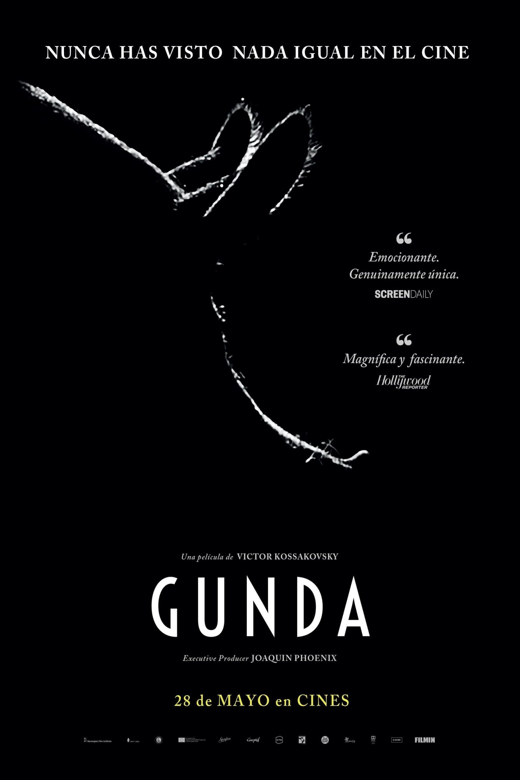 """Pósters de la película """"Gunda"""""""