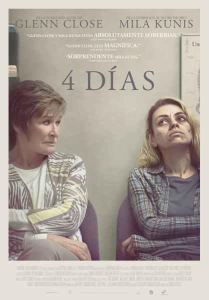 """Pósters de la película """"4 días"""""""