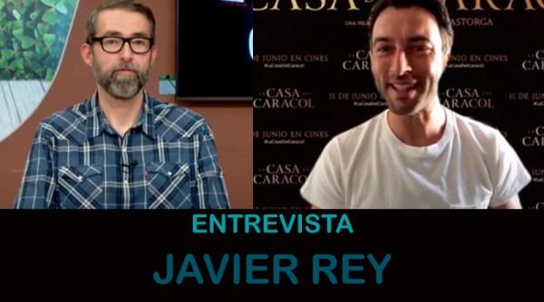 Entrevista a Javier Rey, protagonista de 'La casa del caracol'