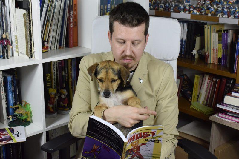 Entrevista a Doc Pastor, autor de Frost, perrito de aventuras: El secuestro espacial