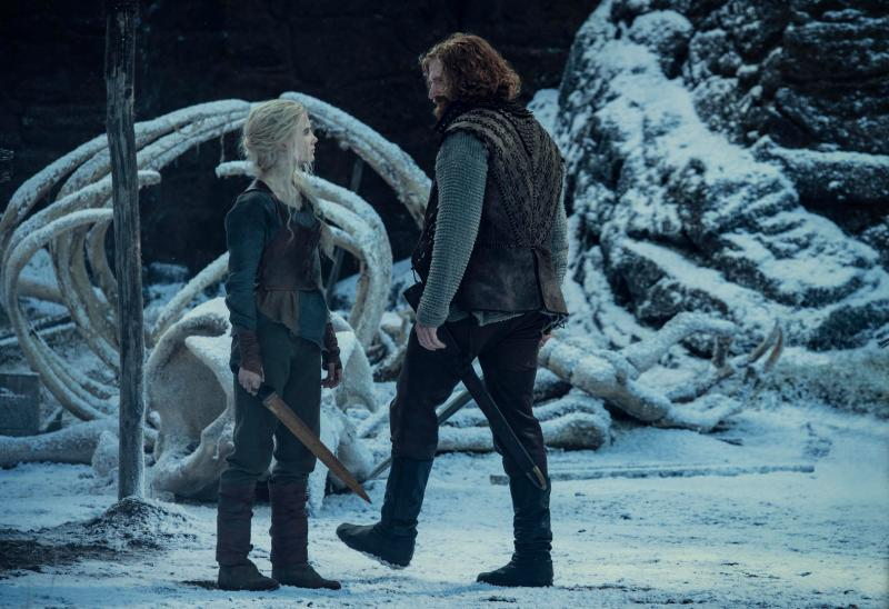 The Witcher: Primera imagen de Cirrilla y Lambert juntos en Kaer Morhen: