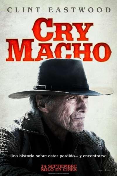 """Pósters de la película """"Cry Macho"""""""