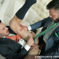 Hector de Silva se folla a su mentor Andy Star | Men At Play