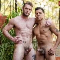 Alejandro Castillo muestra a Ace Era quién es el macho alfa follándoselo a pelo y poniéndolo a mamar de su lefa | Lucas Entertainment