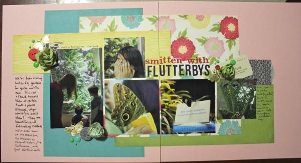 smitten by flutterbys || LOAD day 5 || noexcusescrapbooking.com
