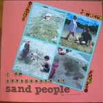 sand people || noexcusescrapbooking.com