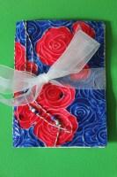 rose notebook || noexcusescrapbooking.com
