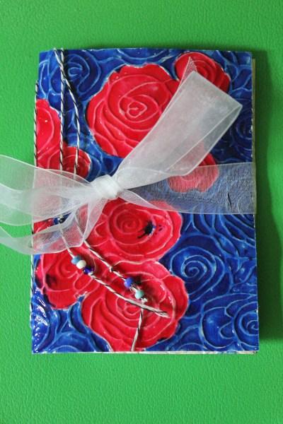 rose notebook    noexcusescrapbooking.com