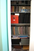 craft room closet 1 ||noexcusescrapbooking.com