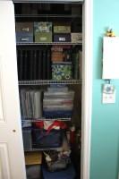 craftroom closet 2 || noexcusescrapbooking.com