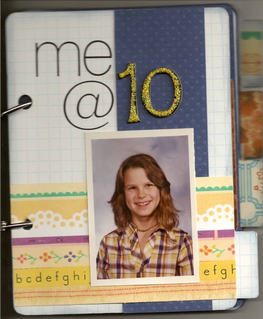 me at 10 || noexcusescrapbooking.com