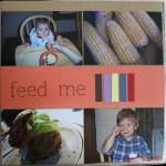 feed me || noexcusescrapbooking.com