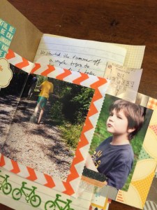 page 1 day book    noexcusescrapbooking.com