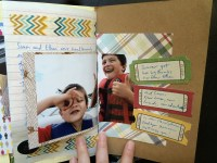 endpage daybook || noexcusescrapbooking.com