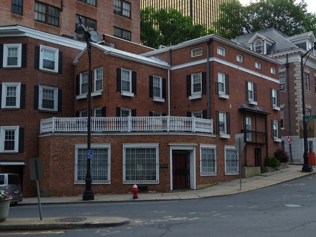 Historic brick buildings