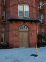 Door and balcony