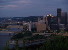 Pittsburgh from the top of Mt. Washington