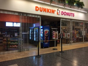 When your flight leaves before Dunkin' Donuts opens, it's a bad day.