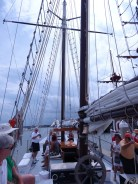 A conference activity was sailing around St Augustine