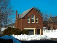 Maple St (former) firehouse