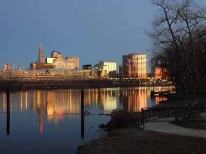 Hartford, from Great River Park.