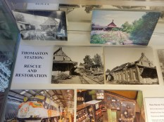 Exhibit showing some of the restoration photos