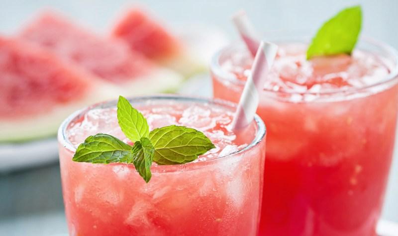 Watermelon Wine Spritzer