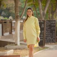 Lemon outfit for sunny autumn days