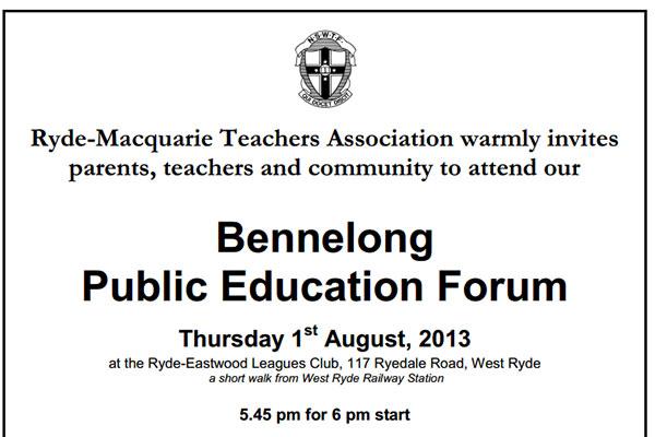 Education-Forum-Bennelong