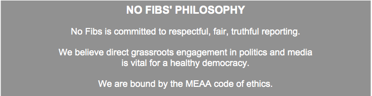No Fibs' philosophy