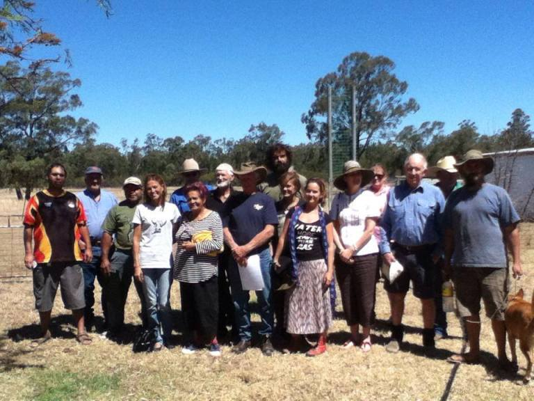 Narrabi meeting to discuss campaign to stop CSG mining in the Pilliga