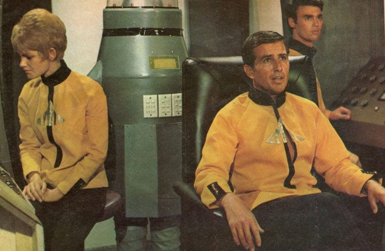 Phoenix Five, exploring the galaxies in 2500 AD (clipping courtesy of Patsy Trench).