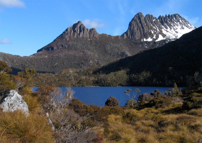 Cradle Mountain, Tasmania (Source: Wikipedia).
