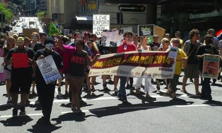 Storify: @JanB_QLD and #MarchInMarch Brisbane