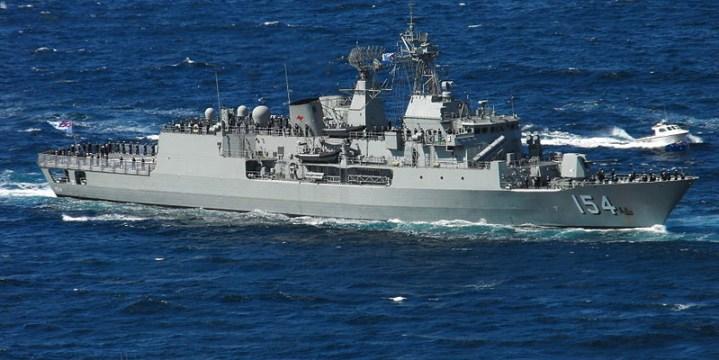 HMAS Parramatta.