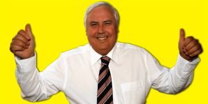 Clive Palmer of the Palmer United Party (PUP).