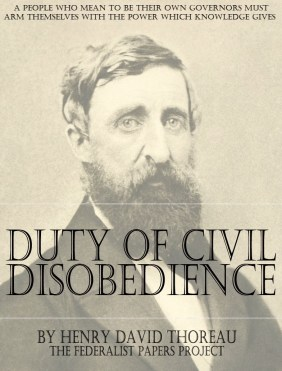 Duty of Civil Disobedience