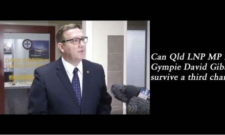 Does LNP Gympie MP David Gibson deserve a third chance? @Qldaah #qldpol