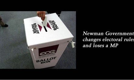 Newman Government changes electoral rules and loses an MP: @Qldaah analysis #qldpol