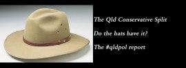 The Qld Conservative split, the #qldpol weekly wrap: @Qldaah