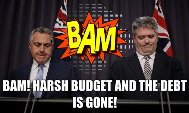 Selling the Budget, @YaThinkN is here to help #Auspol