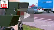 9 News Brisbane: New laser guided speed cameras 'ladar' are set to be rolled out on Queensland streets.