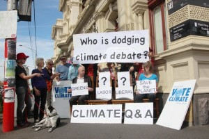 Both Labor and Liberal refused to attend the candidate climate forum in Northcote.