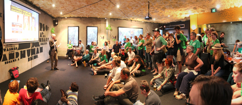 The Brunswick Greens  election watch party