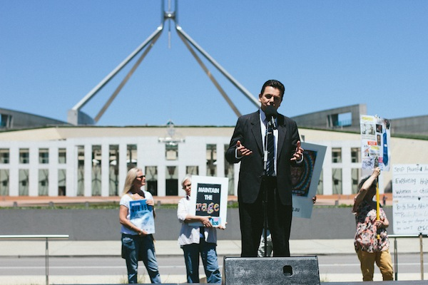 Independent Senator Nick  Xenophon. Photo: Jeremy Stevens