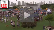 ABC News Qld: Protesters have again rallied to prevent development of Wavebreak Island on the Gold Coast.