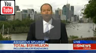 9 News Brisbane: Ashgrove cash splash: $131m to be spent on Newman's electorate while 171k now out of work.