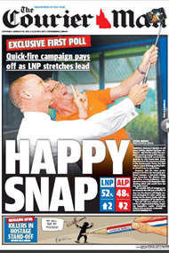 The Courier Mail - Galaxy poll has LNP win with 52pc TPP
