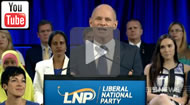 9 News Brisbane: LNP launch - Newman promises to lower water & power bills again: