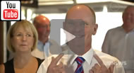 #qldvotes Newman laughs off leadership speculation & vows to run bikies out of Qld.